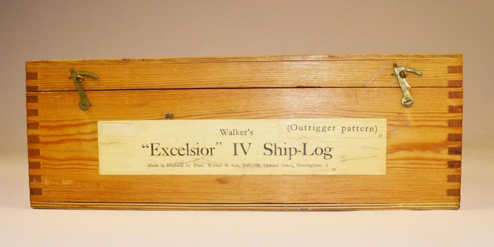 Excelsior IV Ship Log with Rotator – Walker's, Birmingham