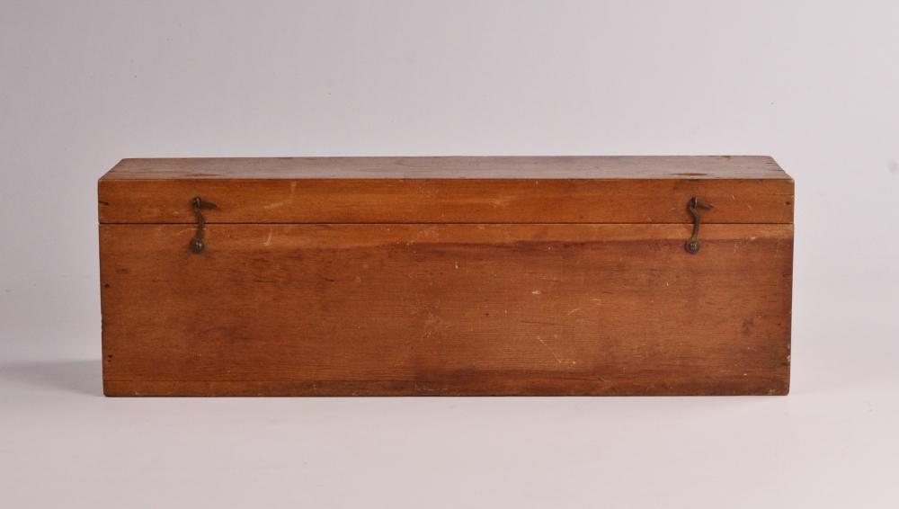 Rare, unused Harpoon Log with case – Hand, Nantucket, 19th century