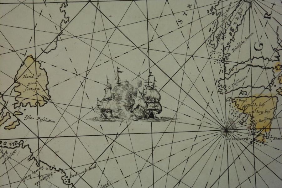 Frederick de Wit, Amsterdam, Holland, 17th century – Sea Chart