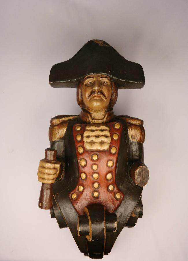 Figure Head of a Man of War – 19th century