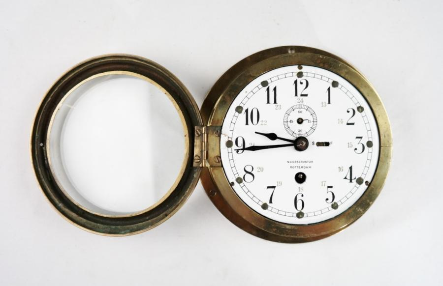 Bridge Clock – Observator, Rotterdam, early 20th century