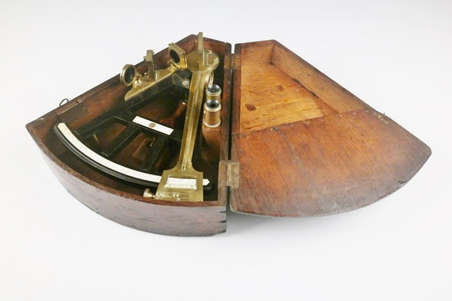 Octant, two mirrors – England, early 19th century