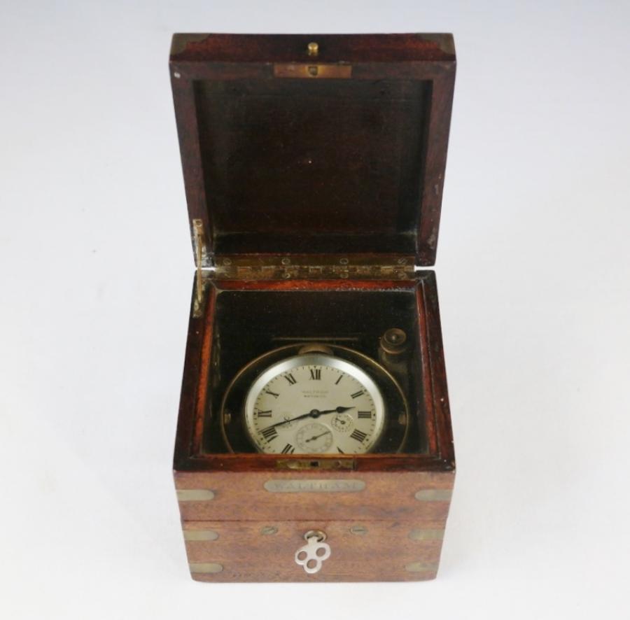 Eigth-days Chronometer – Waltham, Massachusetts