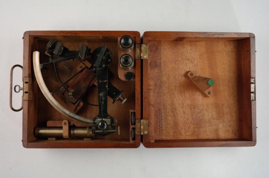 WWI US Navy Quartant (sextant) – Brandis, Brooklyn NY