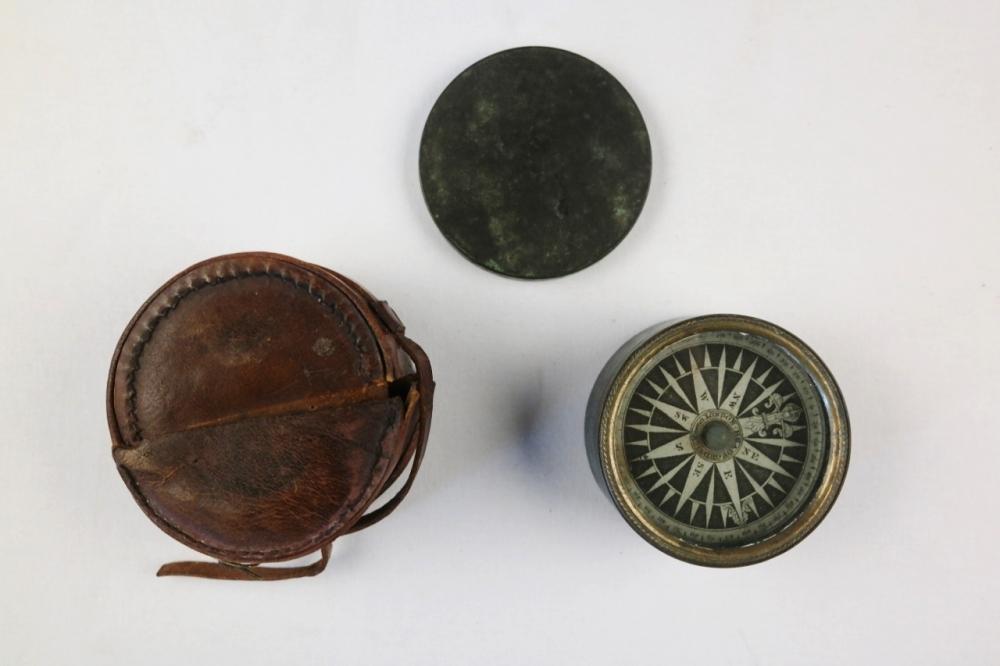 Dry Card Yacht Compass – Bradford, London, 19th century