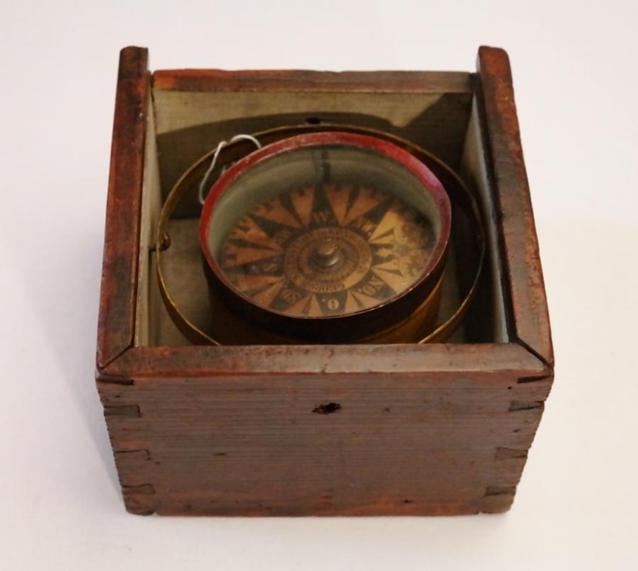 Dry Card Compass – Neuenstadt, Koningsberg (Kalinningrad – Russia), early 19th century