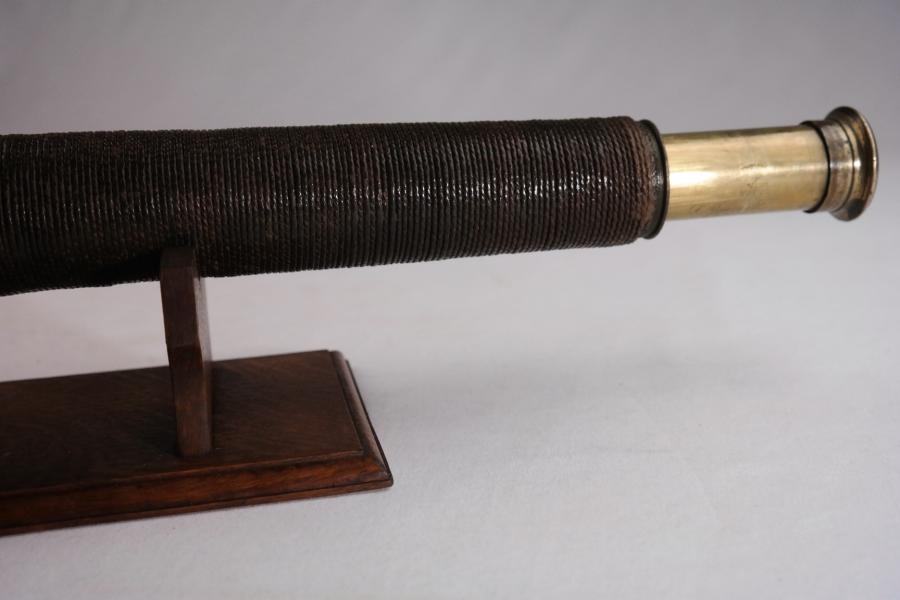 Naval Telescope, rope decorated – Bassnett, Liverpool, 19th century