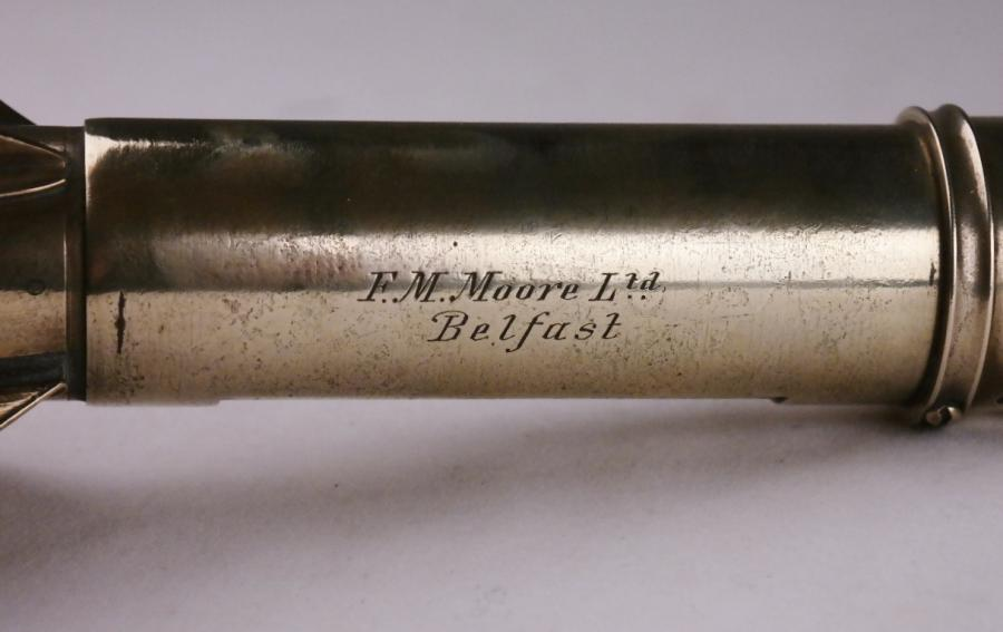 Yacht Harpoon Log with Conical Tail End – Massey, London, 19th century