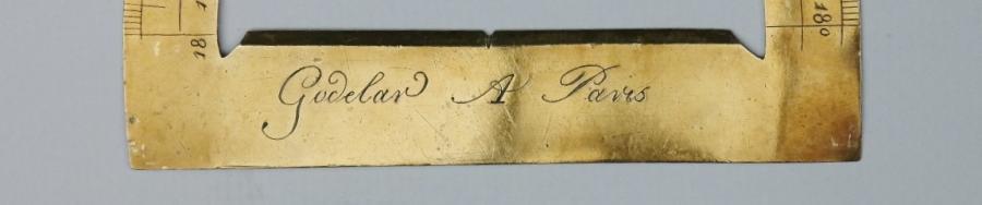 Protractor – Godelar, Paris, 18th century