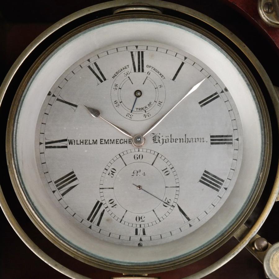 Ship's Deck Chronometer – Wilhelm Emmeche, Copenhagen