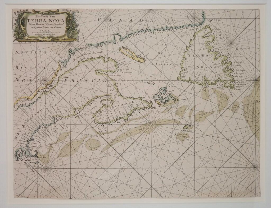 Nantucket, Nova Scotia and Newfoundland in the 17th century – Nautical Chart
