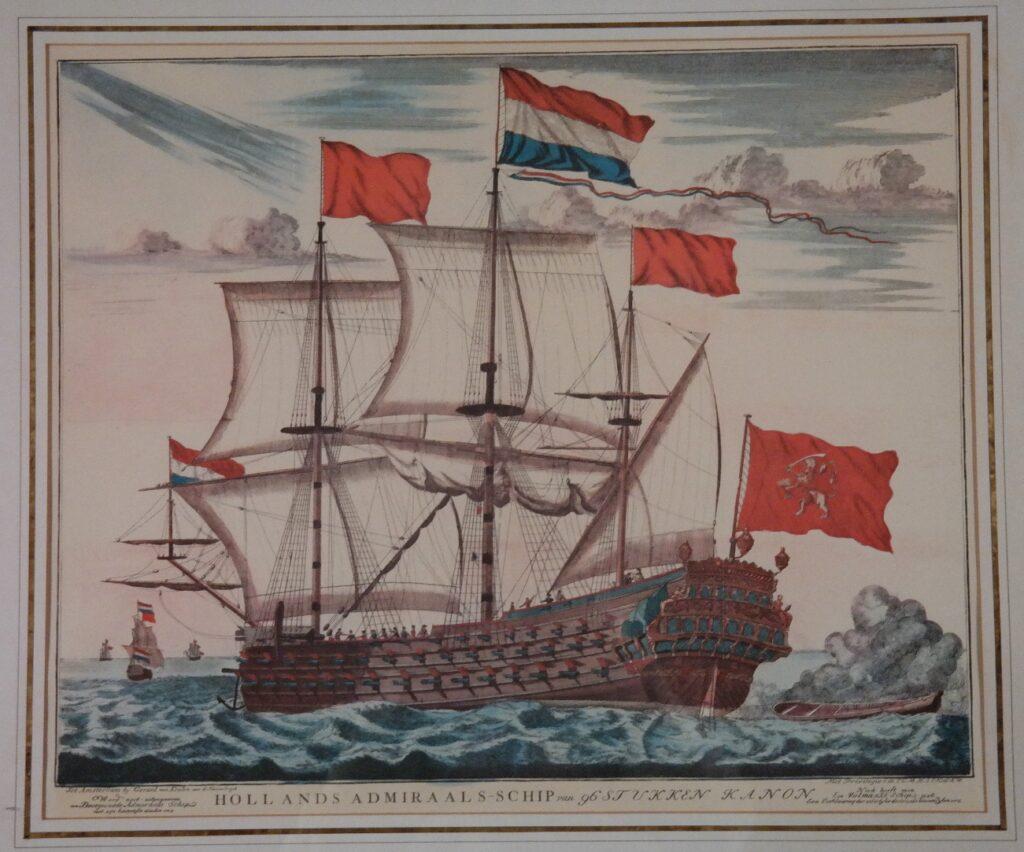 A Dutch Admiralship with 96 guns – van Keulen, Amsterdam