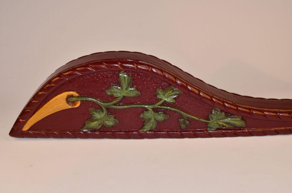 Rudder tail piece – Friesland, Netherlands, 19th century