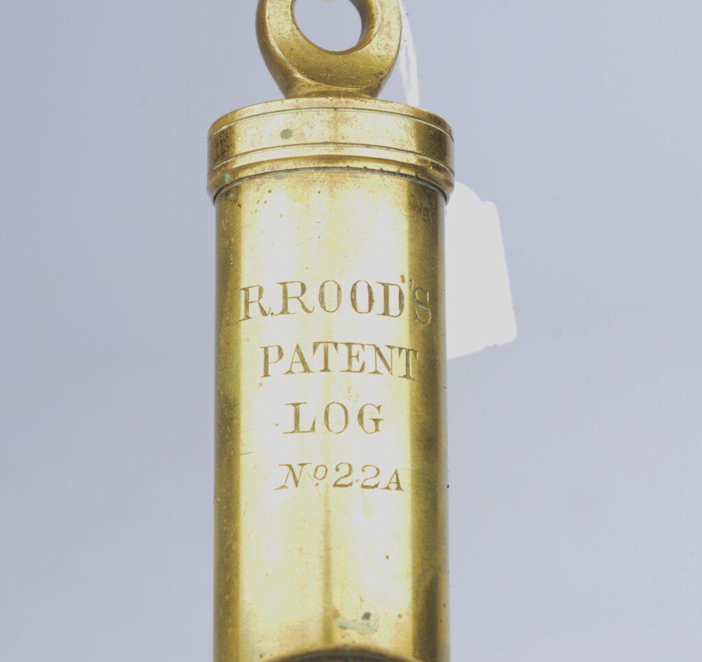 Rood's Patent Log or Spring Balance Speed Indicator, ca. 1887