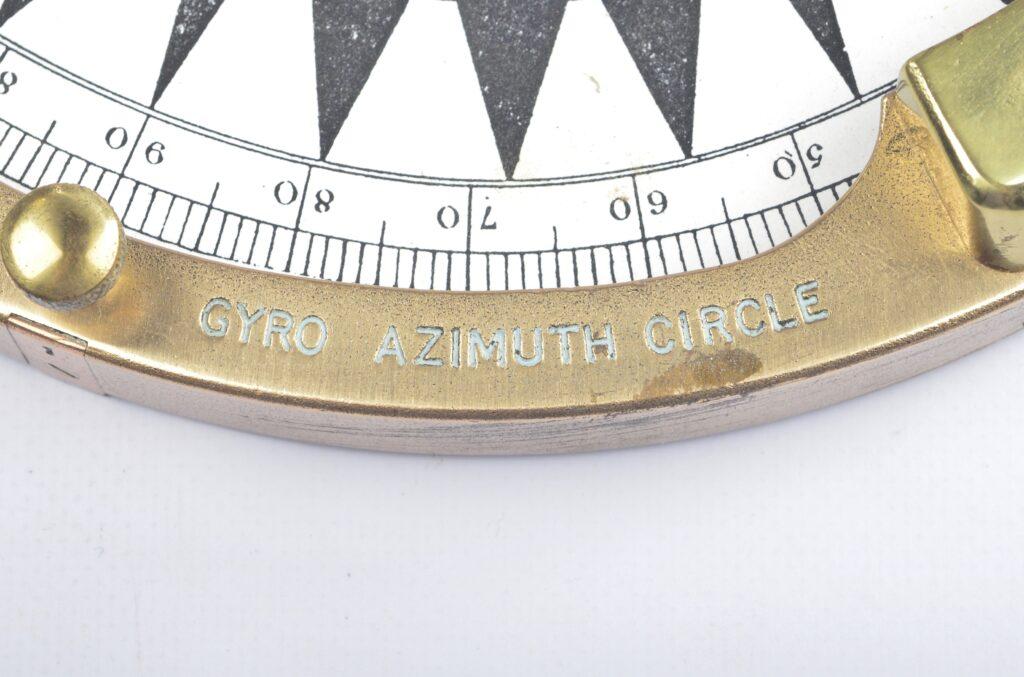 Azimuth circle – Langford, Bristol, ca. 1950