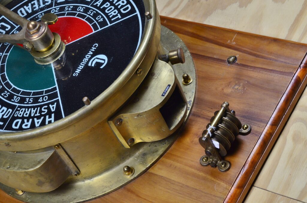 Emergency Steering System – Chadburn, England