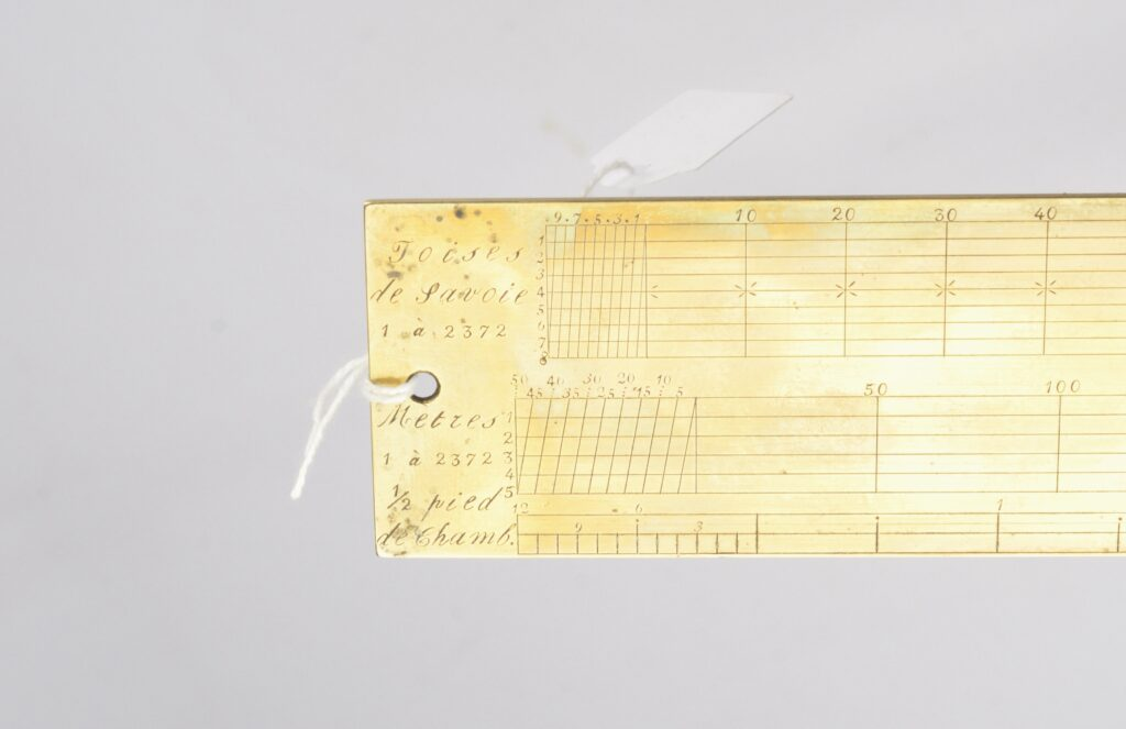 Brass and Steel Nautical Chart Divider – Continental, 19th century