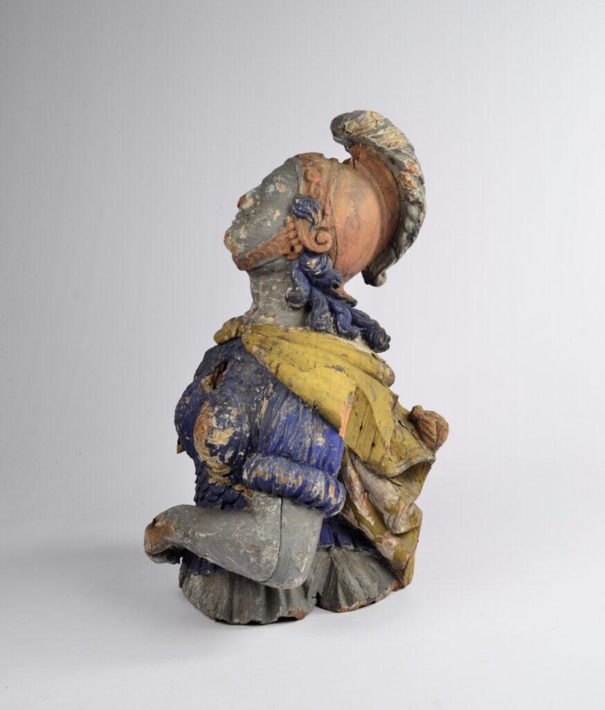 19th century Figurehead of the goddess Minerva