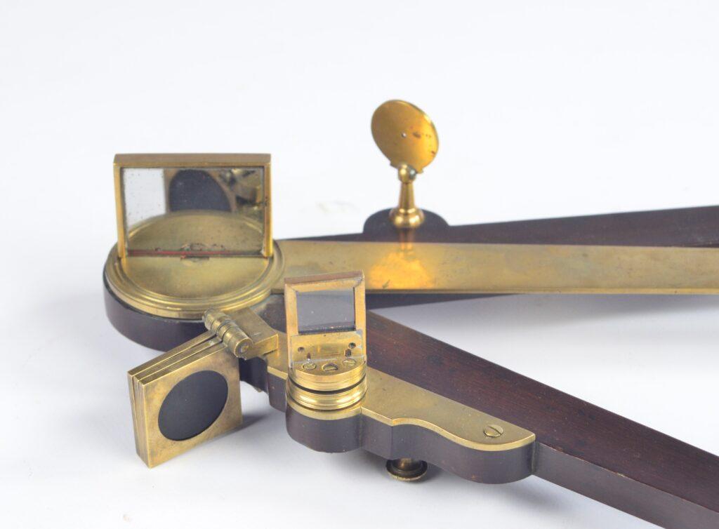 Large 18th Century, 20 inch Octant, mahogany