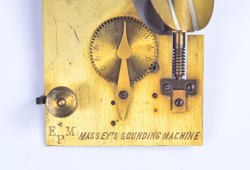 Sounding Machine with Lead – Edw. Massey, London, ca. 1810