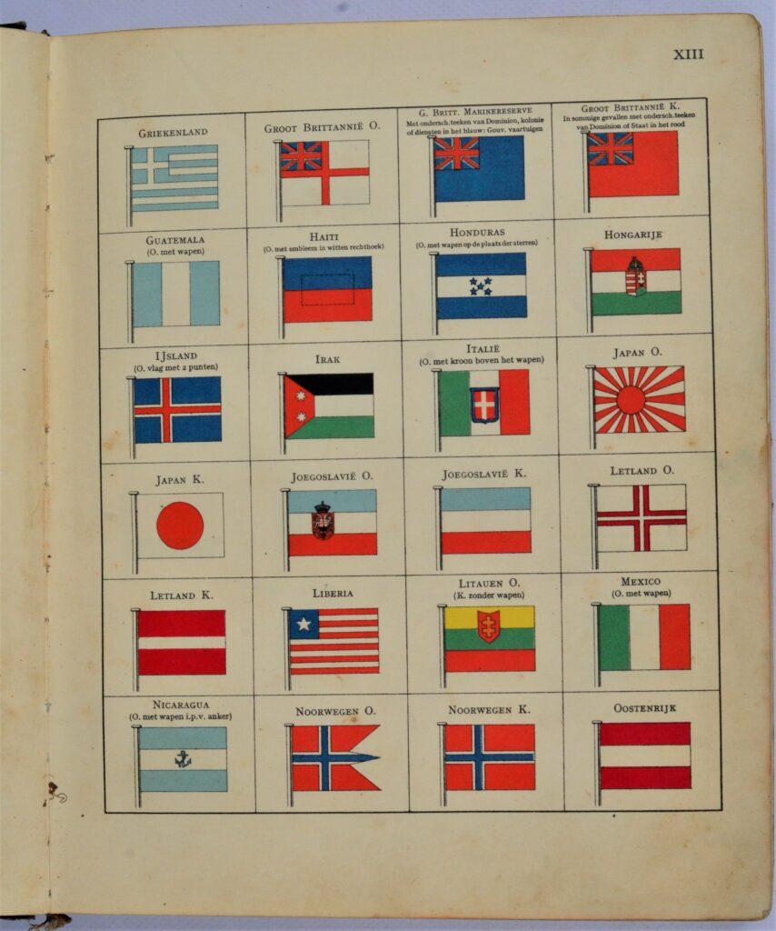 Internationaal Seinboek – Amsterdam, 1933
