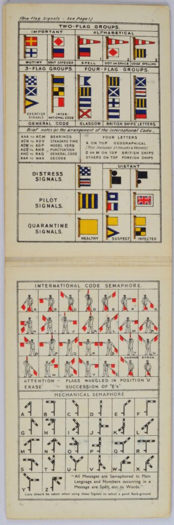 Brown's Signal reminder – Glasgow, England, ca 1955