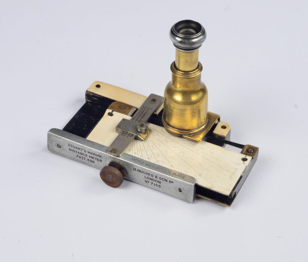 Stuart's Marine Distance meter – Hughes, ca. 1910