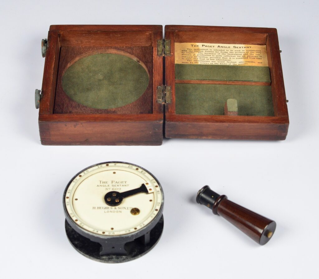 The Paget Angle Sextant – Hughes, London, ca. 1910