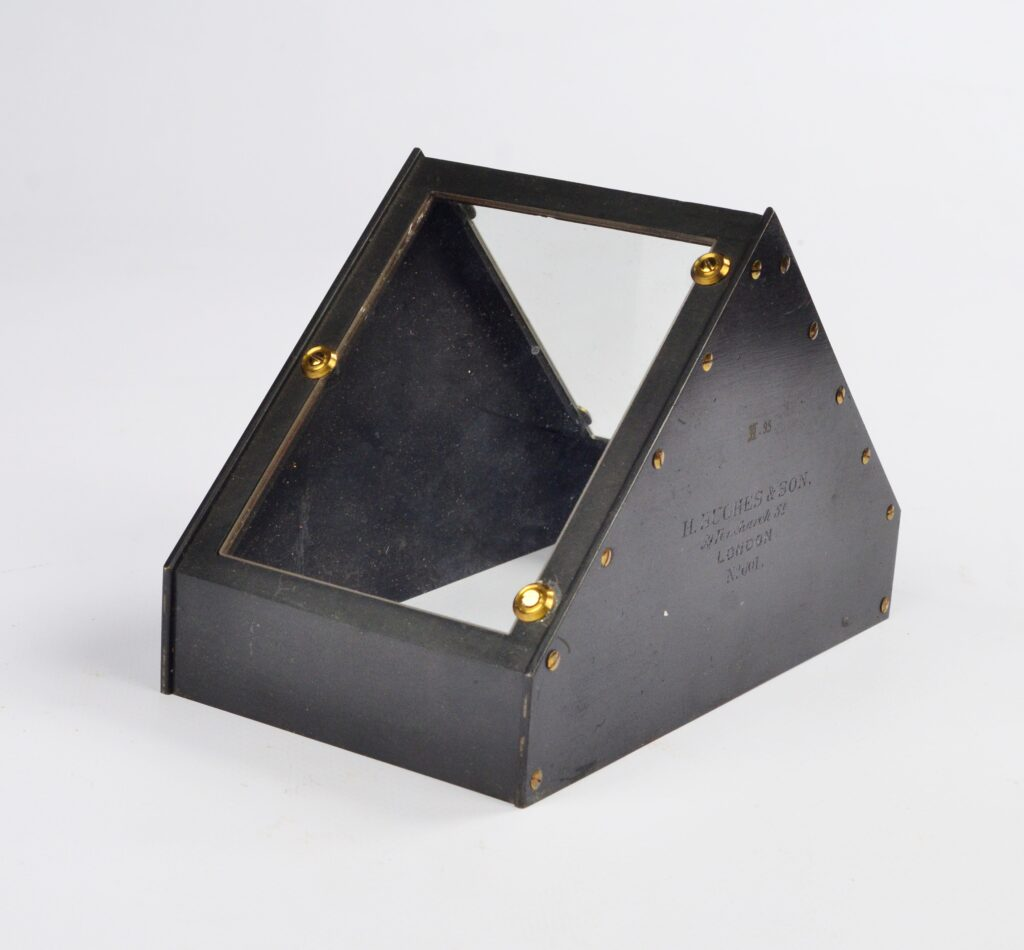 Rare Roof Artificial Horizon – Hughes, London, ca. 1850