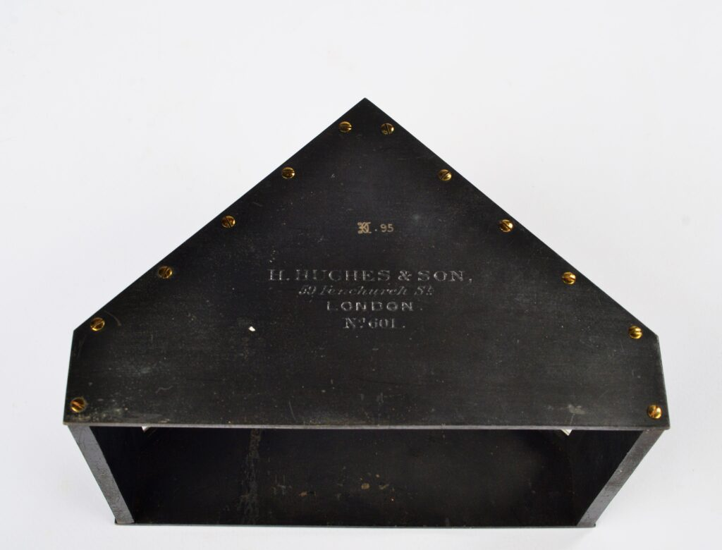 Rare Roof Artificial Horizon – Hughes, London, ca. 1850