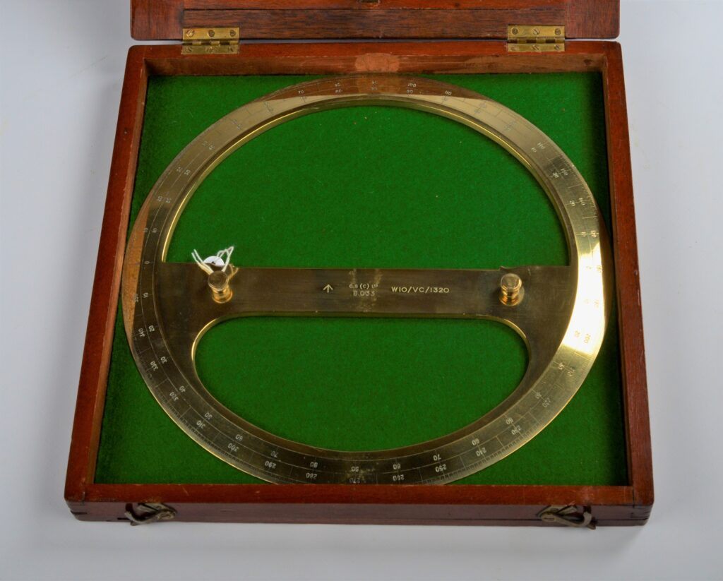 Large Circular Protractor or Navigational Plotter – Chas. Smith, 1910