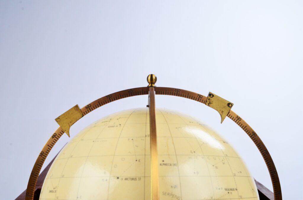 Celestial Globe, Star Finder – Hughes, London, 1975