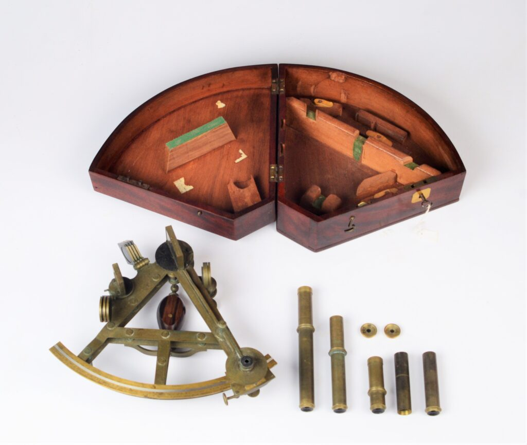 Interesting Double Frame Sextant of the British East India Company – 1818