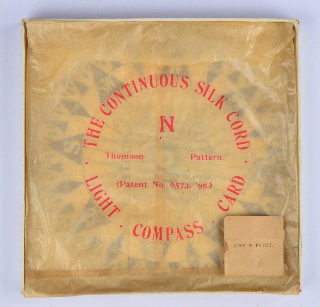 Dry Card – Thomson's pattern – Lord Kelvin/Sir William Thomson