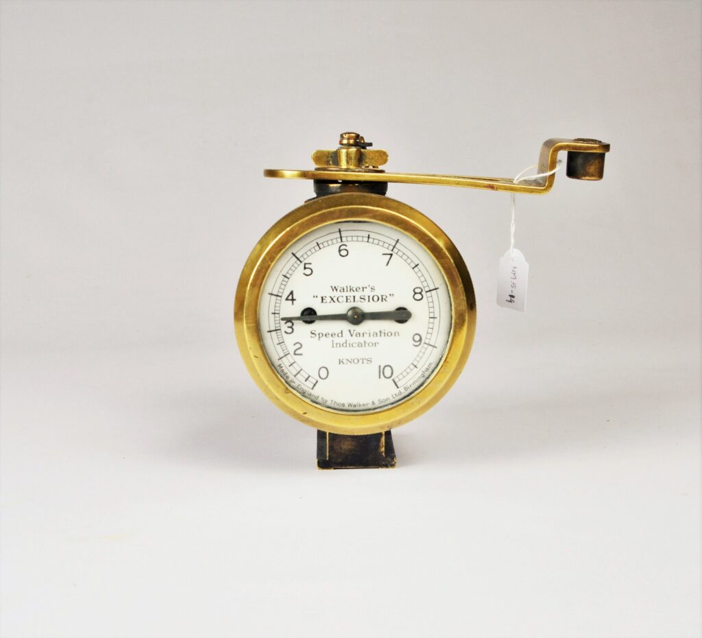 Excelsior IV Ship-log with Rotator and Speed variation Indicator – Walkers, Birmingham